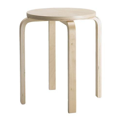 IKEA Frosta wooden stool