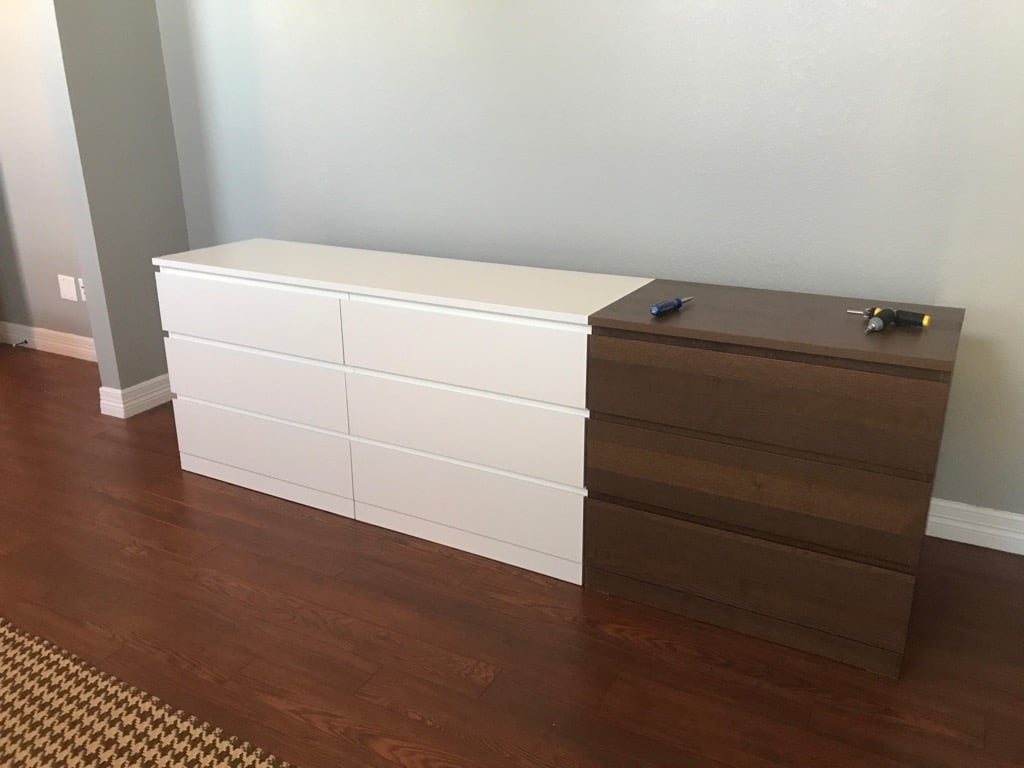 Xl Chest Of Drawers One Big Malm Dresser Ikea Hackers