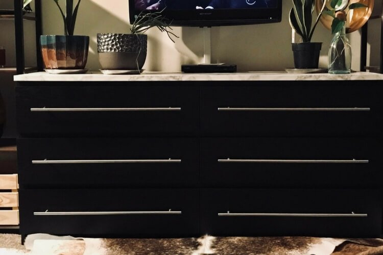 Simple Malm Dresser Upgrade Ikea Hackers