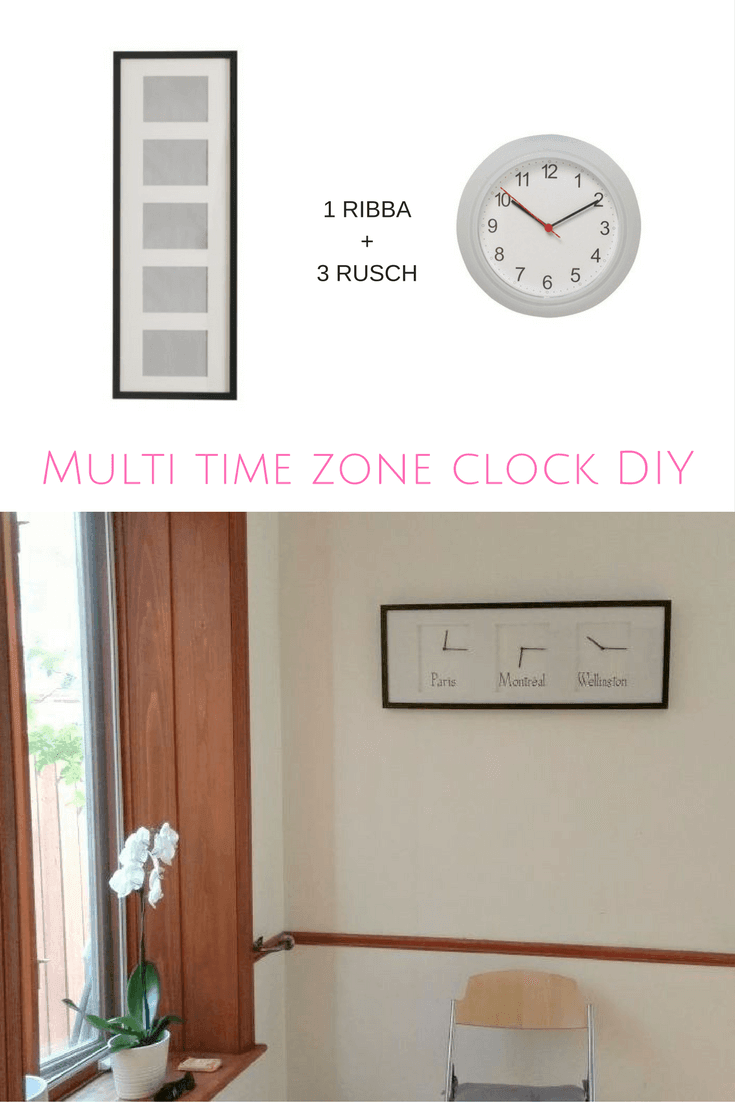 multi-time-zone-wall-clock-diy
