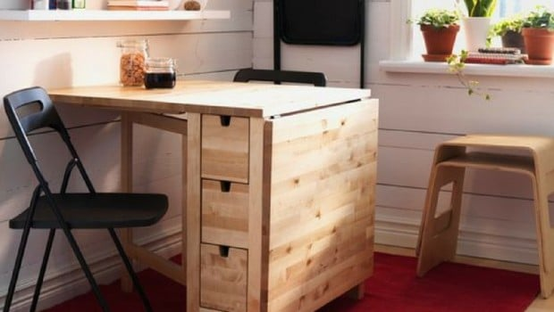 hackers help how to paint this norden gateleg table ikea hackers ikea hackers. Black Bedroom Furniture Sets. Home Design Ideas