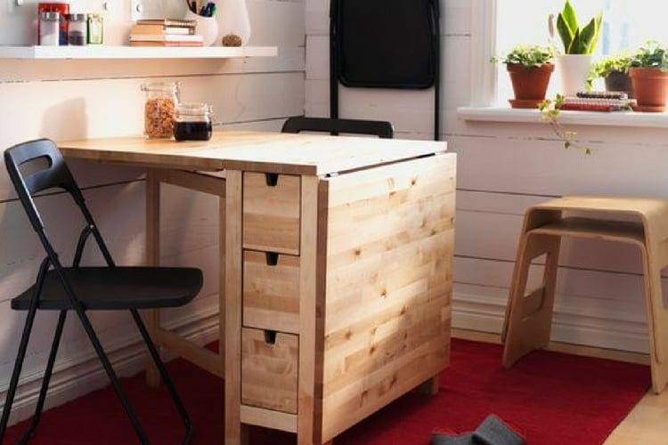 hackers help how to paint this norden gateleg table ikea hackers. Black Bedroom Furniture Sets. Home Design Ideas