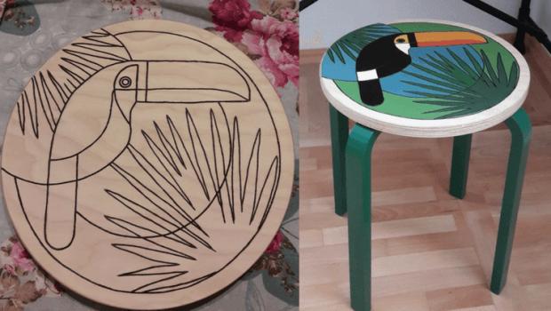 wooden-stool-ikea