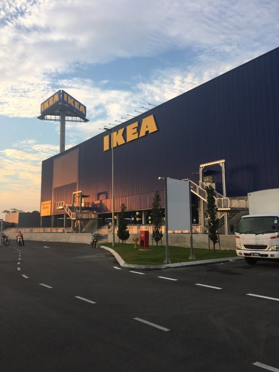 The largest IKEA store in South East Asia opens