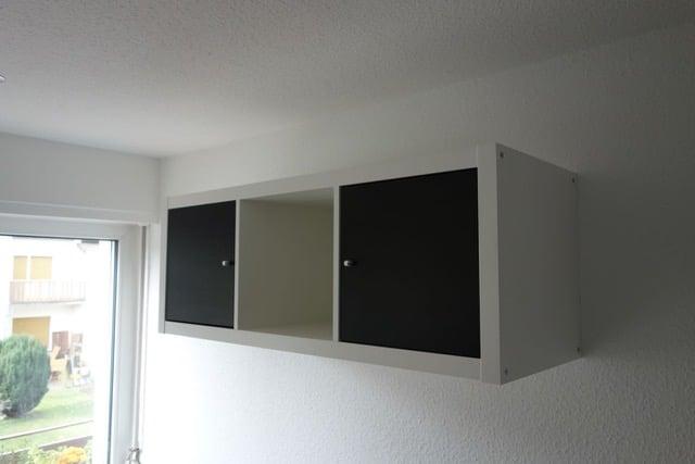 Kitchenette with IKEA Kallax