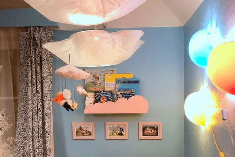 A Kid S Bookshelf With Customized Front Ikea Hackers
