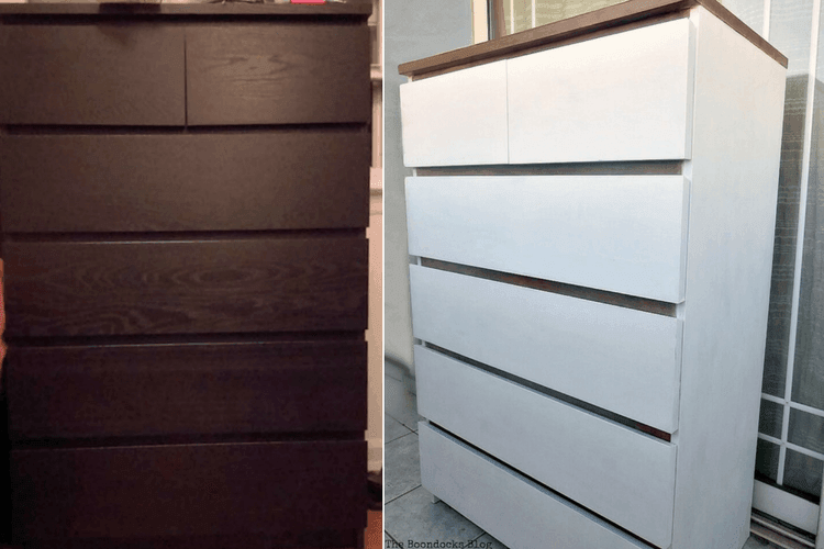 Giving Farmhouse Style To An Old Ikea Dresser Ikea