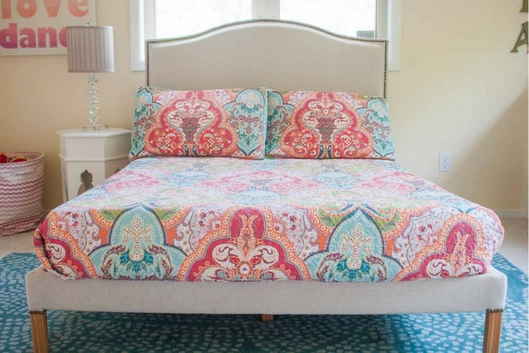 Professional Looking Fjellse Upholstered Bed Hack Ikea