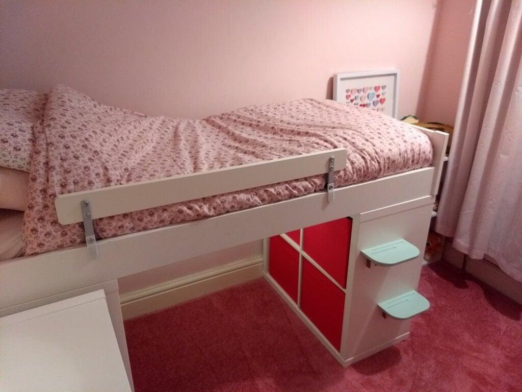 KRALLAX - the toddler mid-sleeper bed