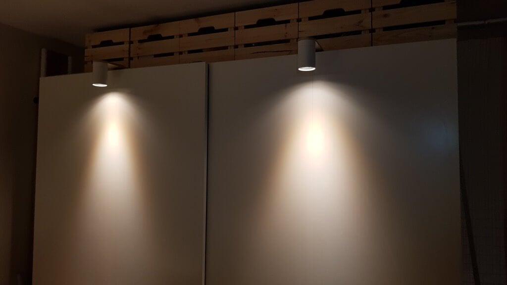Wardrobe light for PAX
