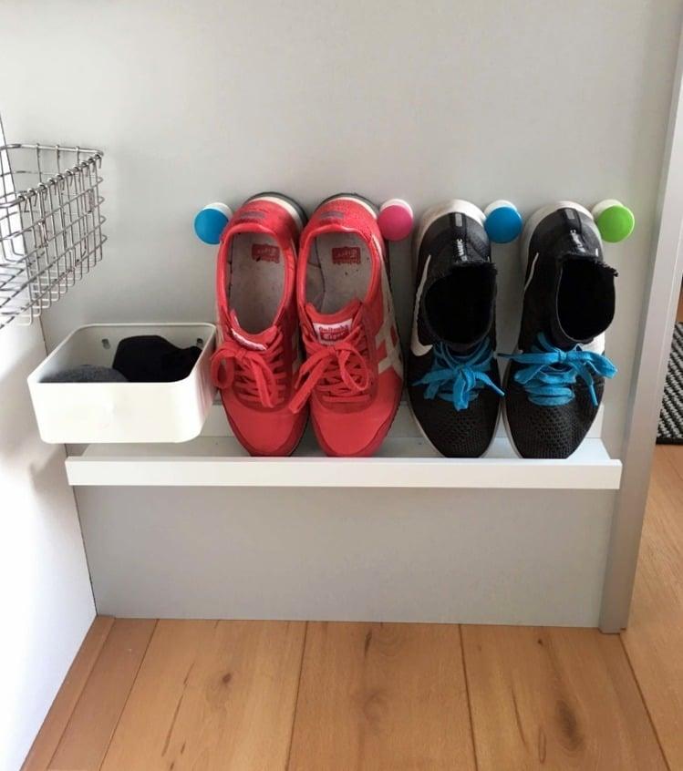 Shoe Shelf For Small Spaces Ikea Hackers