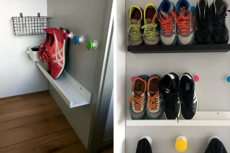 Shoe Shelf For Small Spaces Ikea Hackers Ikea Hackers