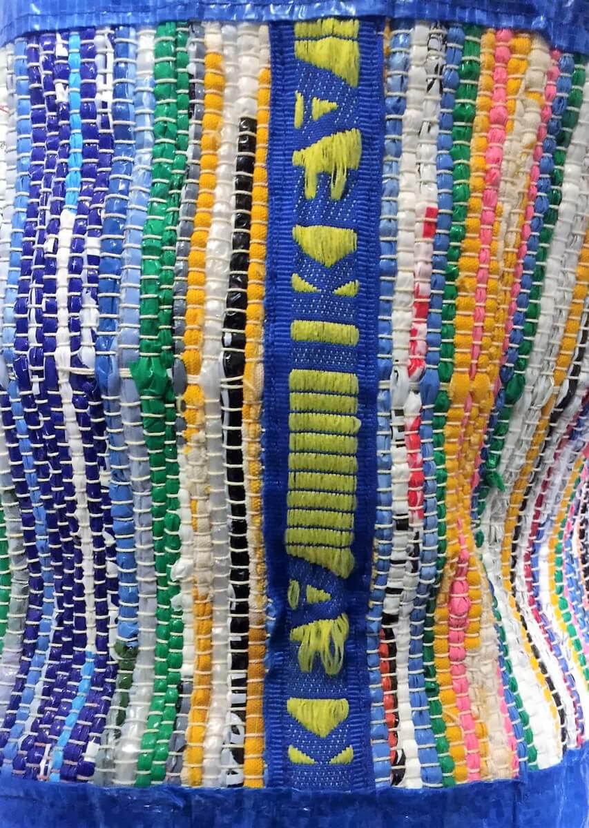 Plastic Fantastic: A woven IKEA bag