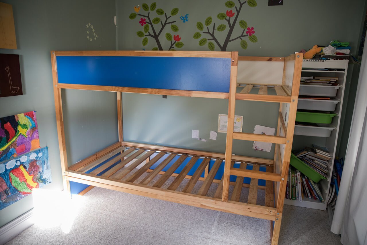 Hacking The Kura Into A Bunk Bed With Storage Ikea Hackers