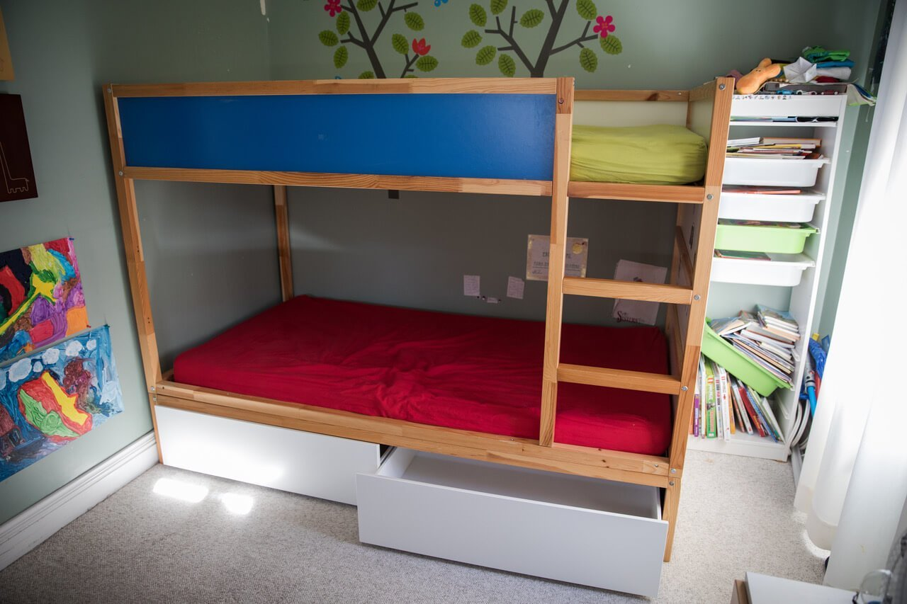 ikea bunk beds with storage