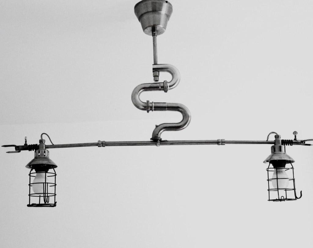 Gille Monte Ruici - snake lamp