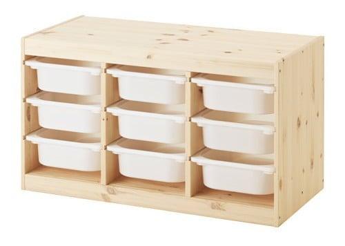 IKEA Trofast storage chest - match IKEA pine wood finish