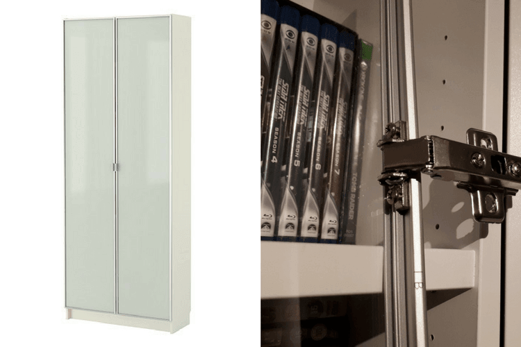Hackers Help Old Billy Glass Doors On New Billy Ikea Hackers
