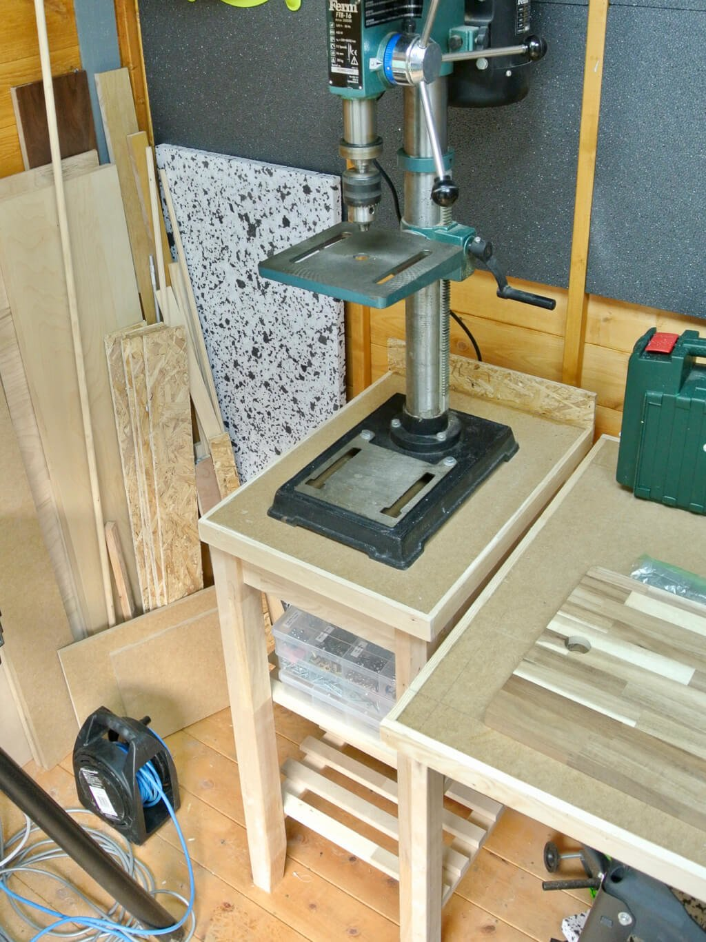 Workshop Tool Bench from BEKVAM Kitchen Trolley