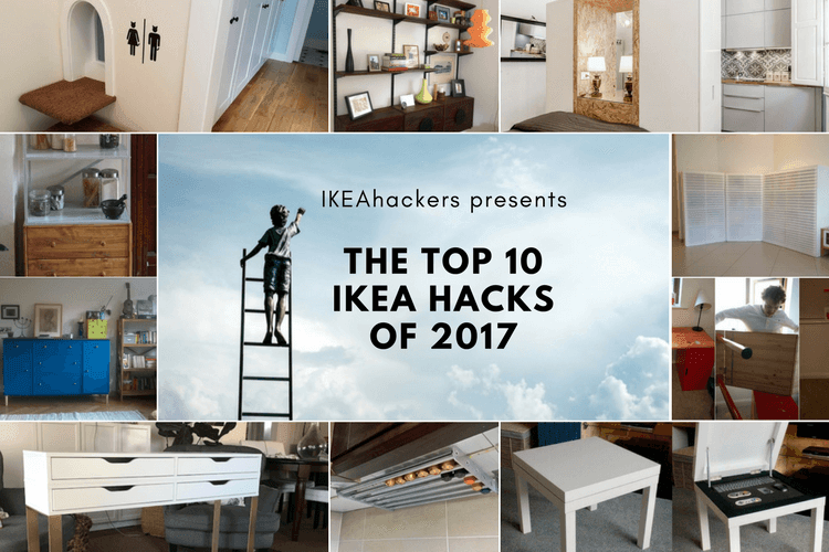 Drumroll Presenting The Top 10 Ikea Hacks Of 2017 Ikea