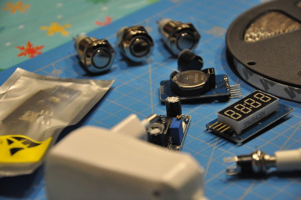 Digital kitchen timer for IKEA play kitchen