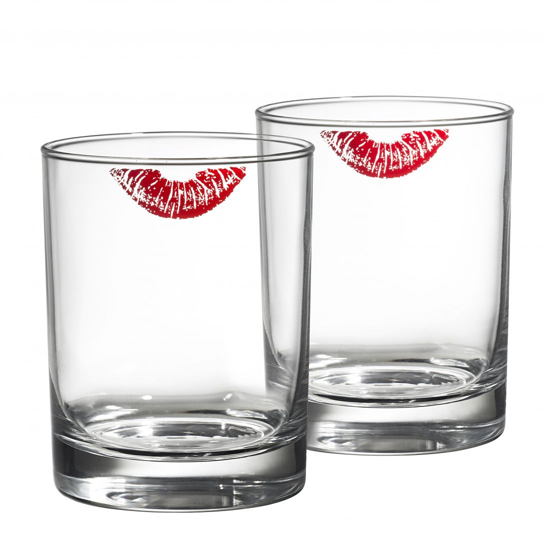 OMEDELBAR Glasses, lipstick