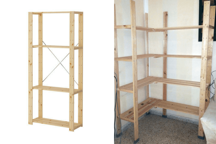 Ikea Kitchen Shelving Unit