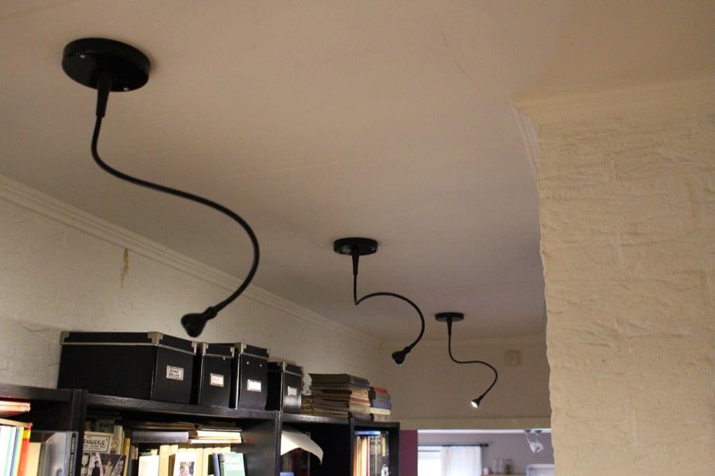 Change a JANSJÖ table lamp to a LED spotlight