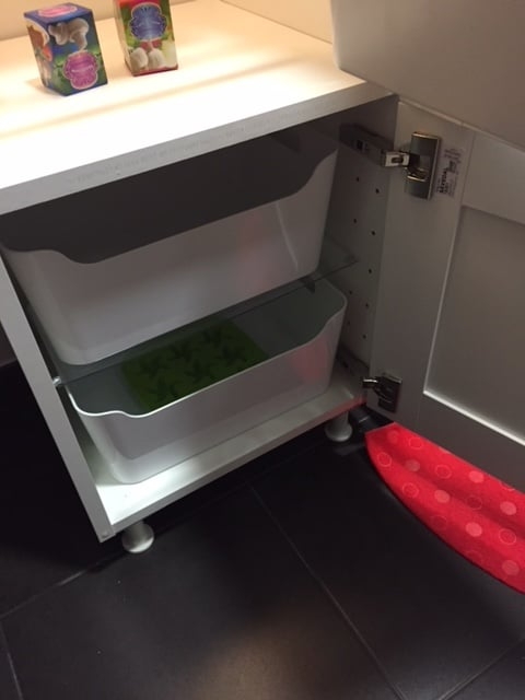 Play fridge to match the DUKTIG play kitchen