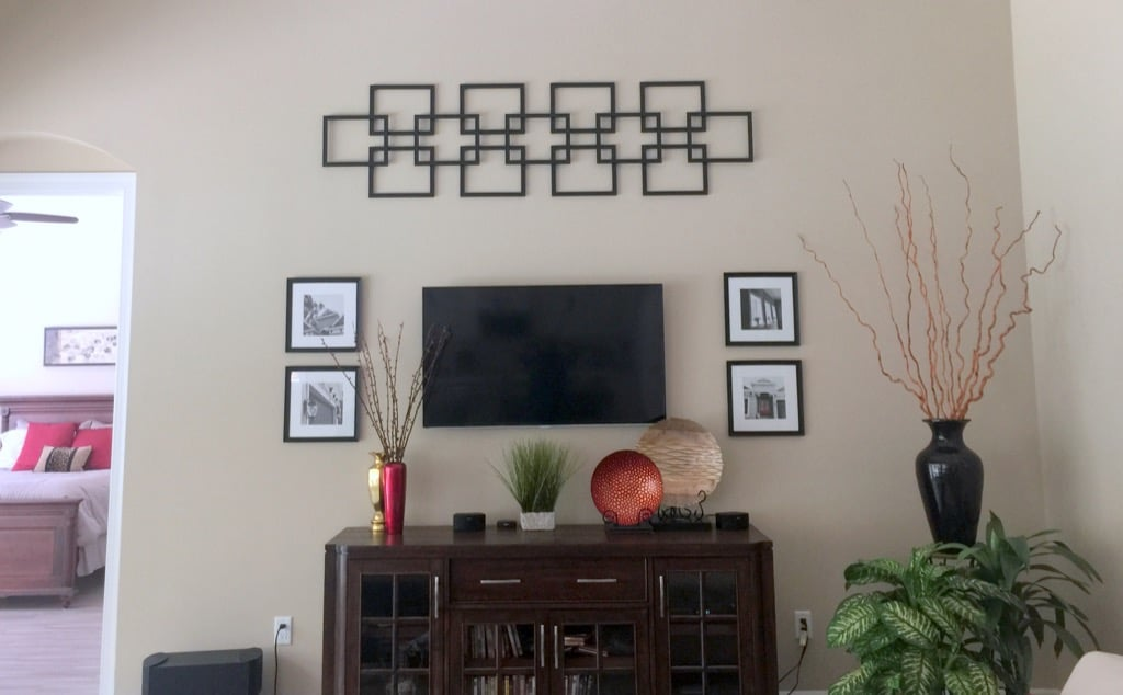 category archives decor 1 bedroom decorating ideas Faux fretwork panel as large scale wall décor