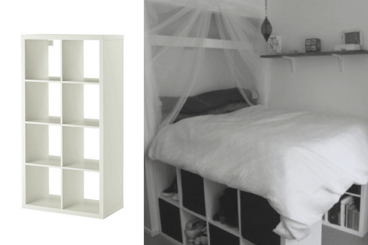 Hackers Help Kallax Bedframe Need Kingsize Ideas Ikea