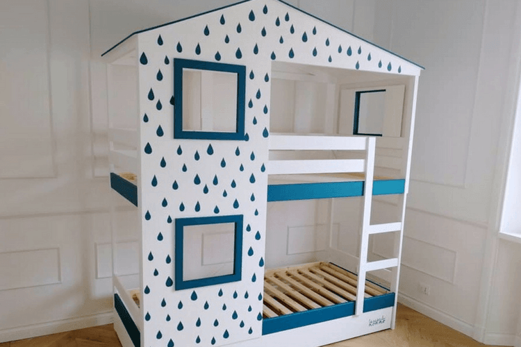 Playhouse Bed For Two Ikea Mydal Hack