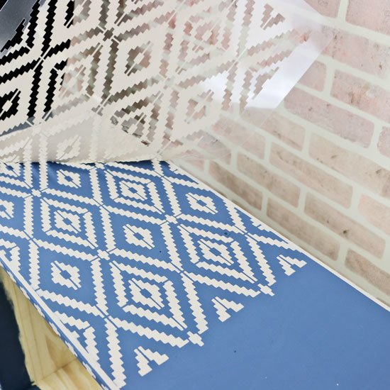 RAST gets an Anthropologie twist with furniture stencils