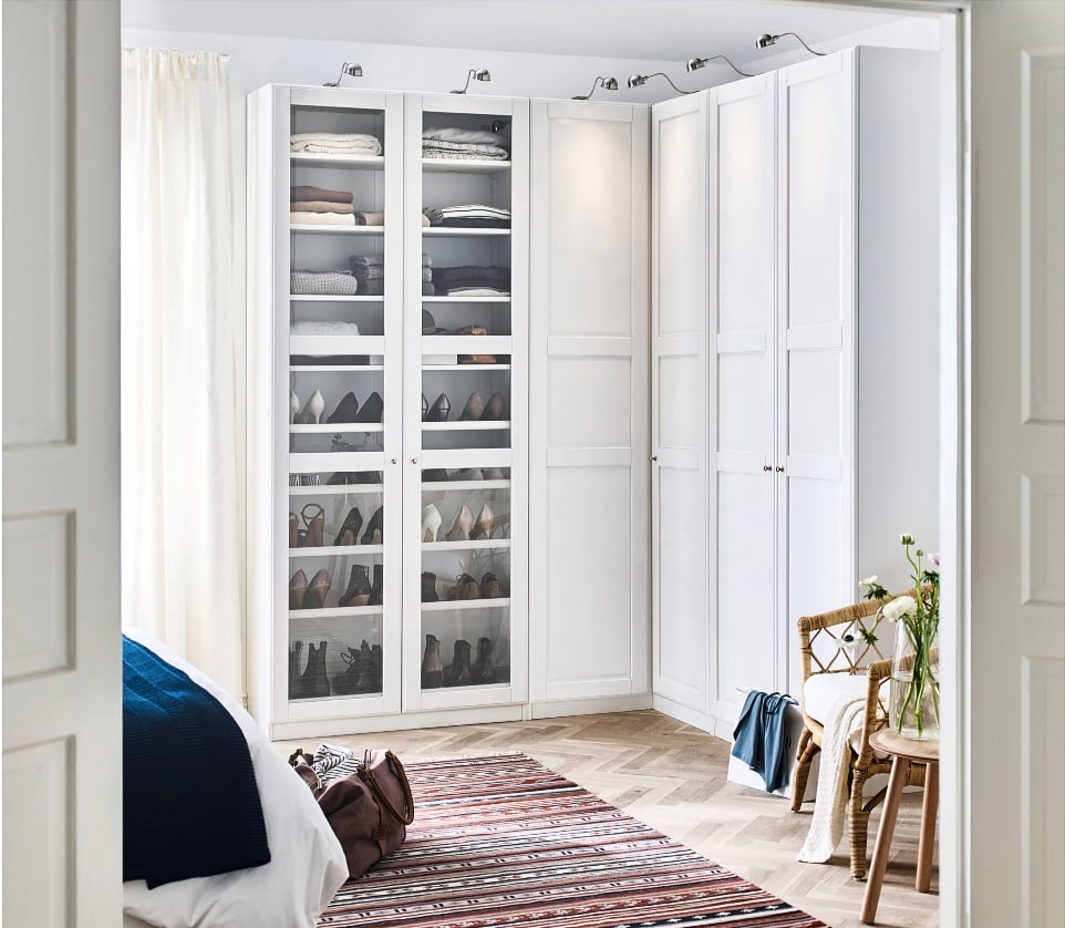 Can I Turn Regular Pax Units Into A Corner Wardrobe Ikea