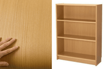 ikea billy beech veneer bookcase