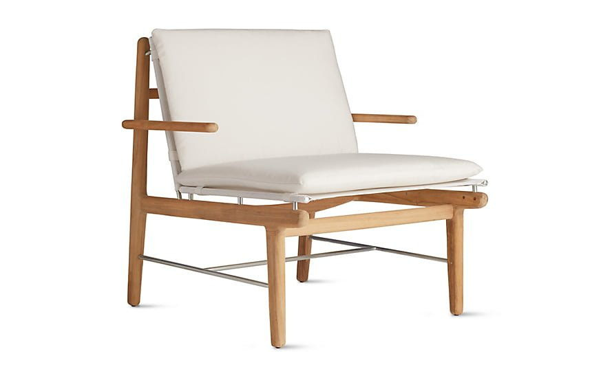 DWR FINN outdoor lounge chair