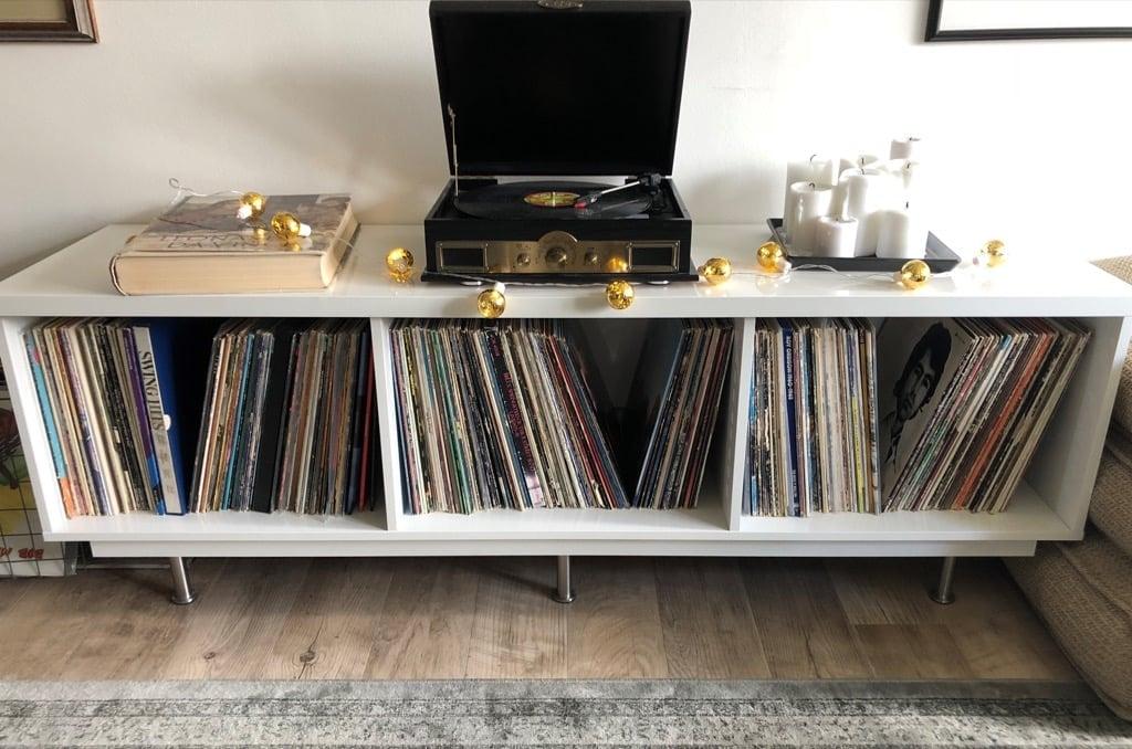 Low Rider Vinyl Record Shelf