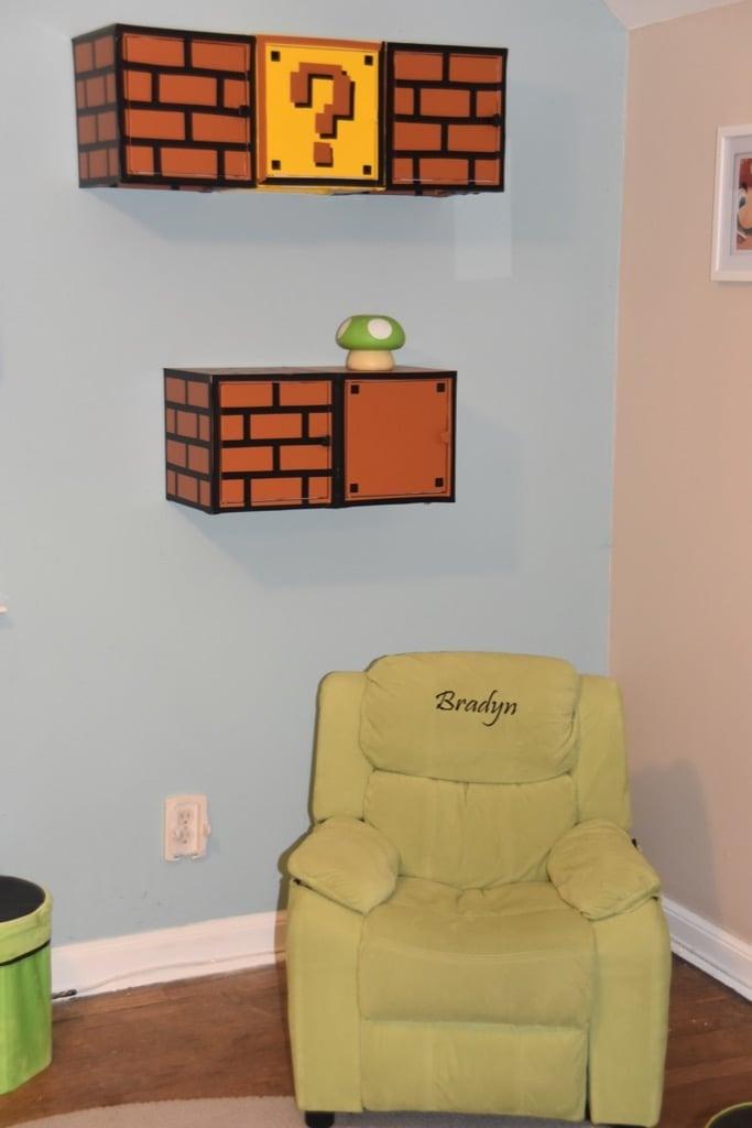 Nintendo Cabinet for a Nintendo Room Makeover