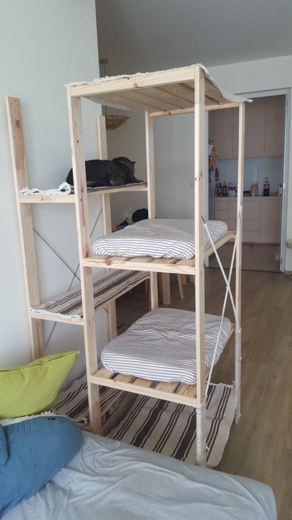 Cheap And Easy Cat Climber For Fat And Clumsy Cat Ikea Hackers