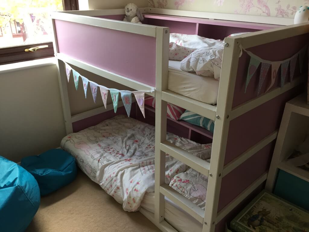 Toddler Bunk Bed Made From Kura Loft