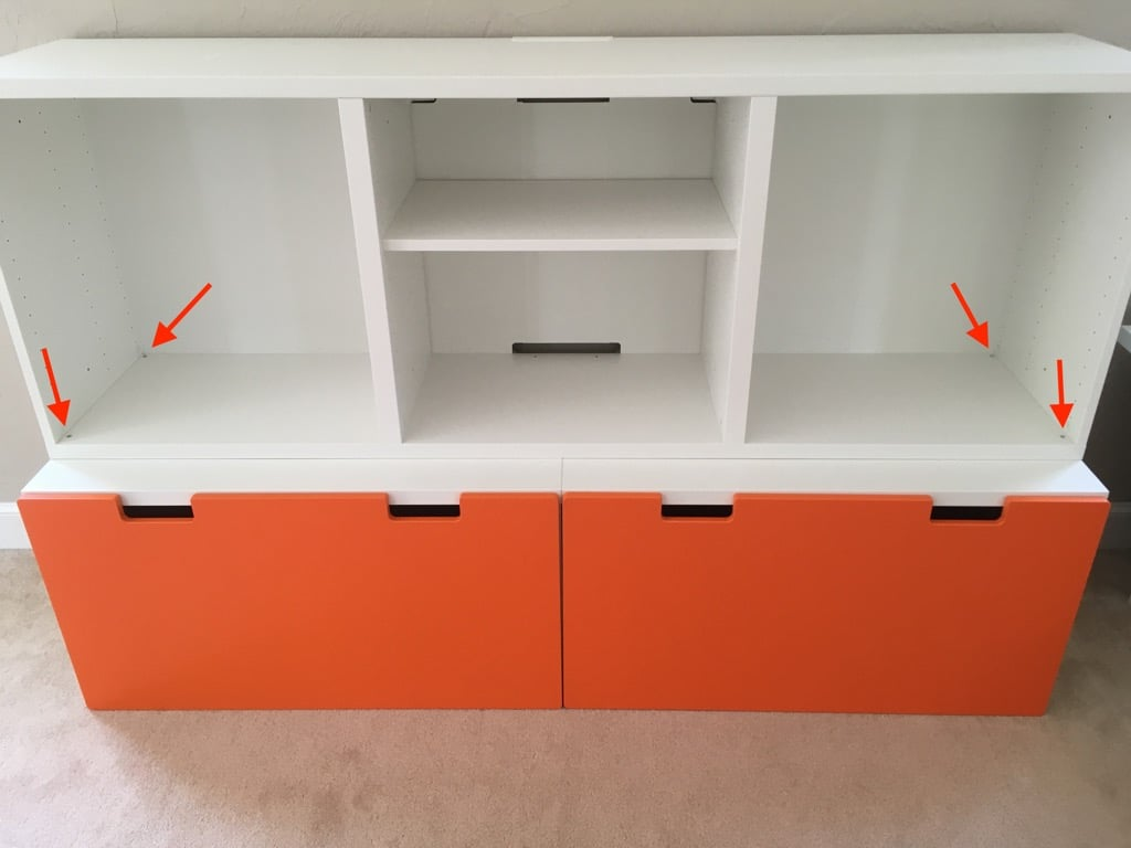 Toy Storage System for Messy Toy Room