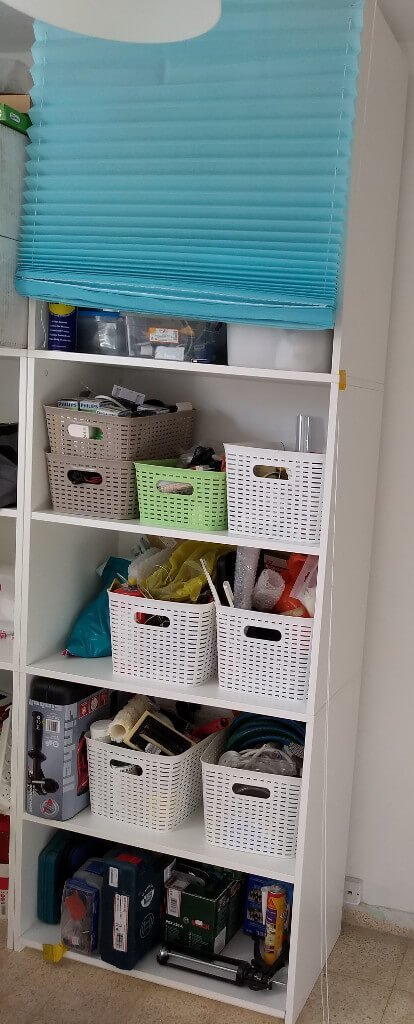 GALANT tool cabinet with roll down shades
