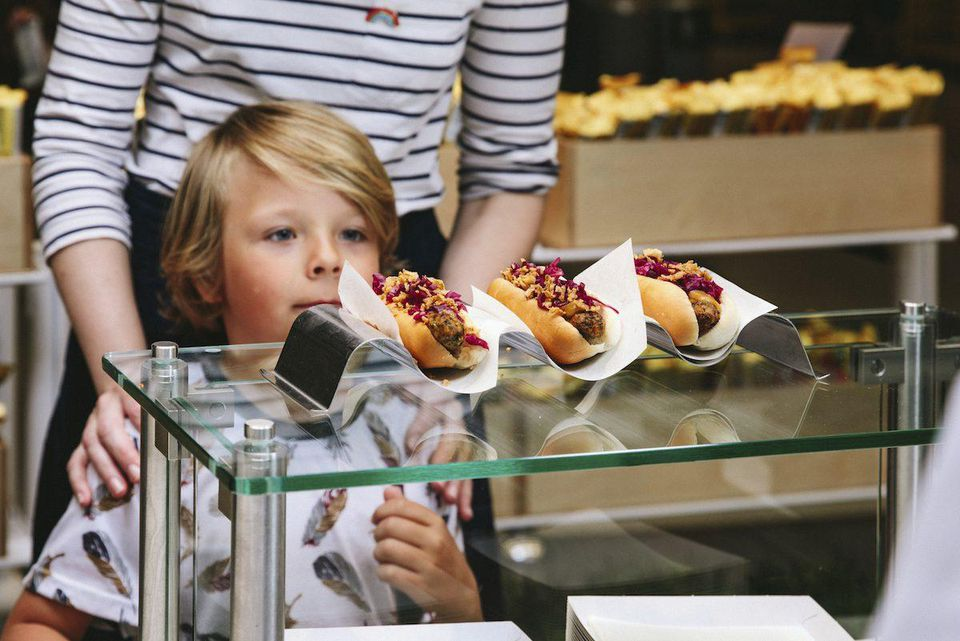 Bite into a vegan hot dog at IKEA US and UK