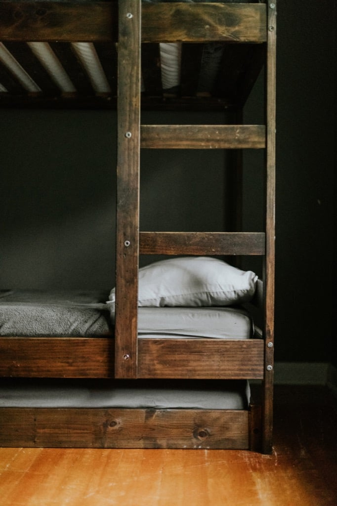 Pull-out bed from IKEA twin bed hack