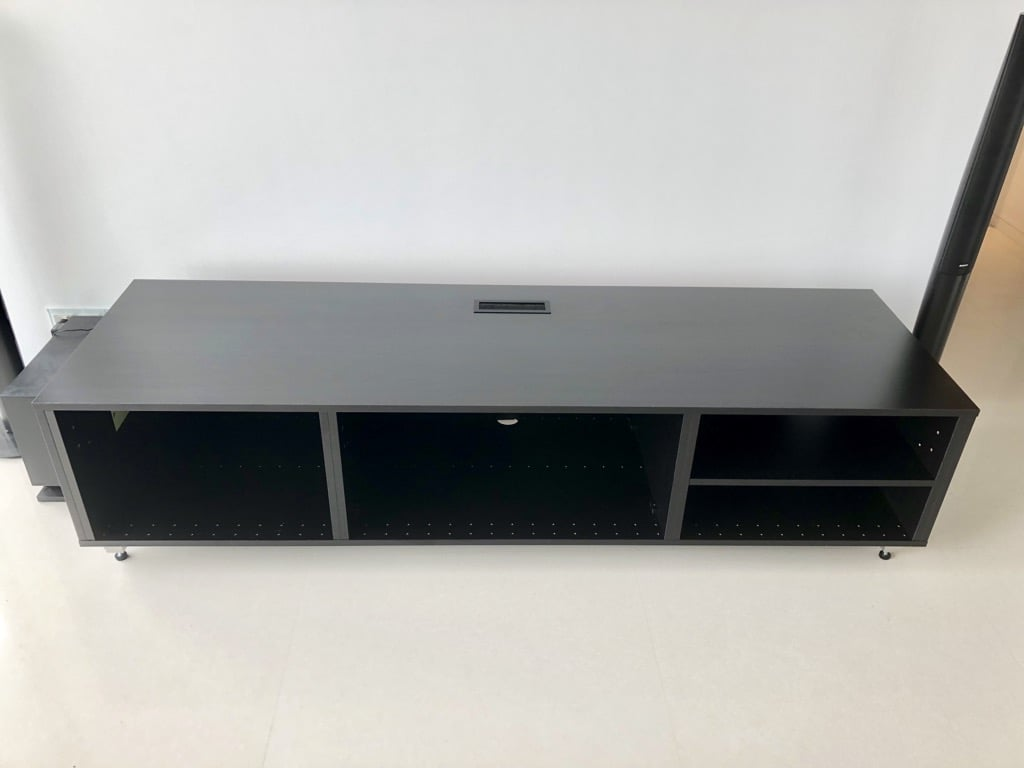 TV cabinet from IKEA METOD kitchen cabinet