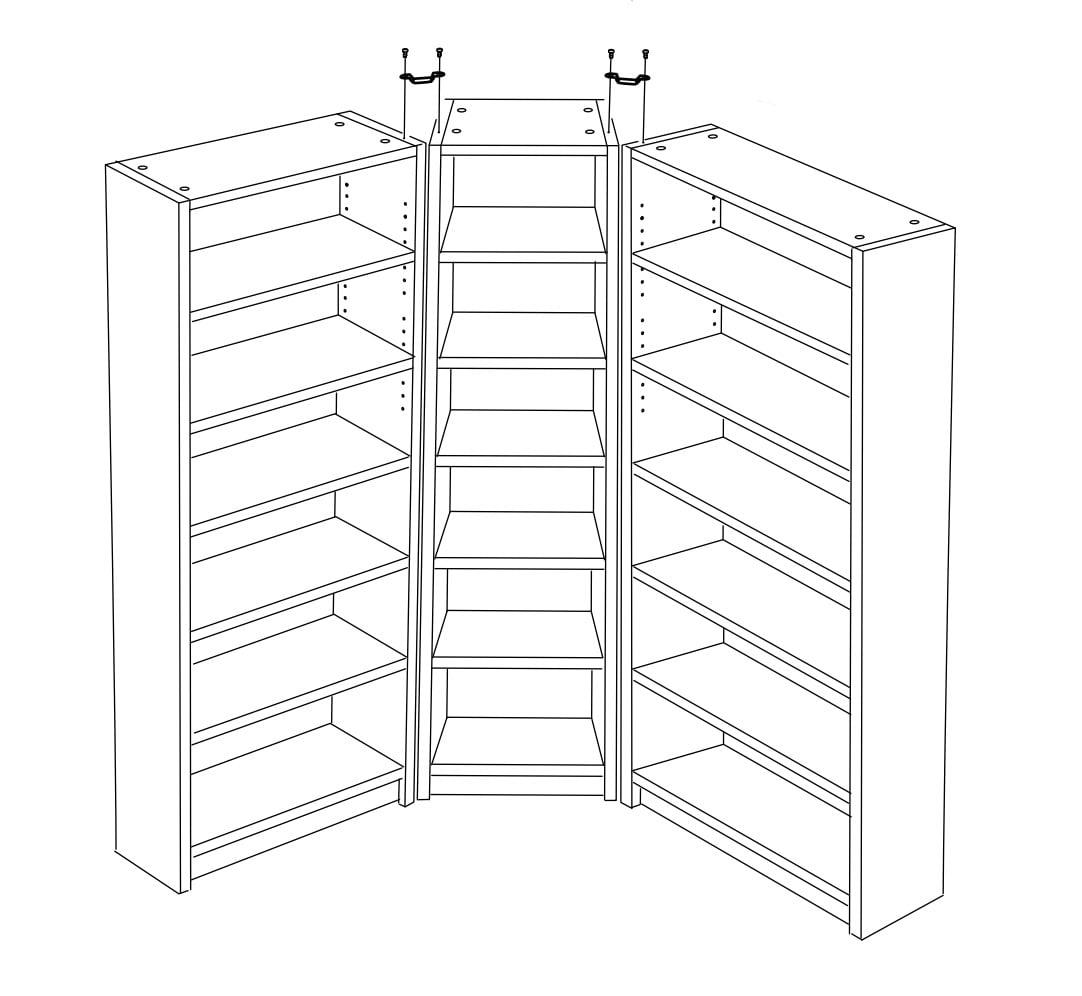 Doors For Billy Corner Unit
