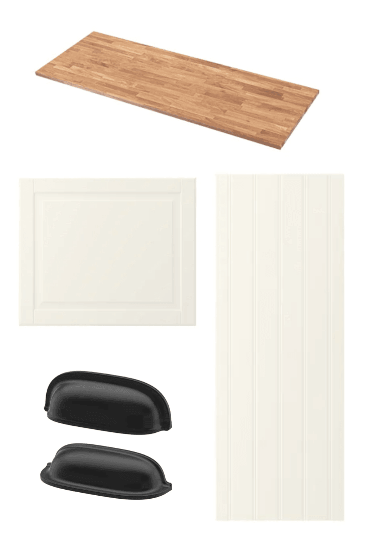 materials for kitchen island plan