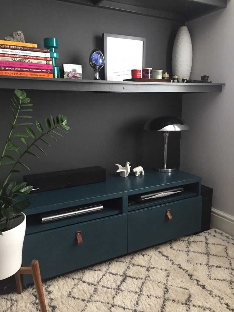IKEA TV cabinet gets a mid-century update