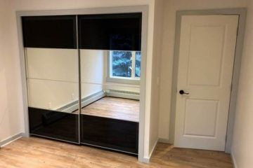 custom built-in closet IKEA PAX