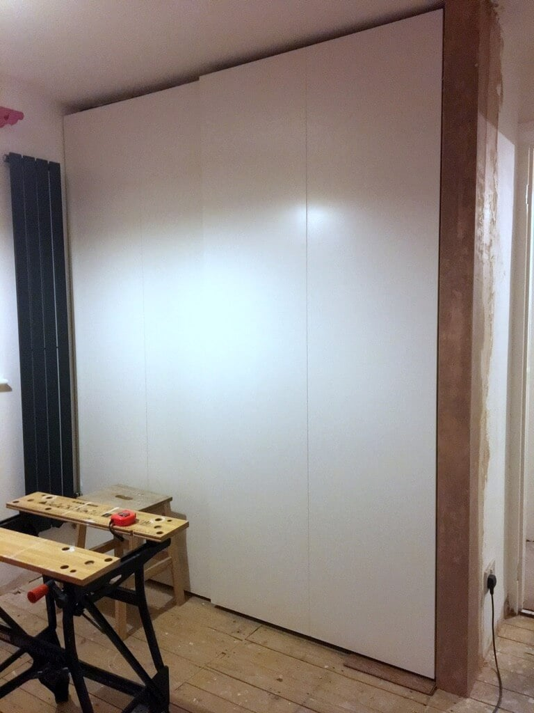 PAX + sliding wardrobe doors made to fit